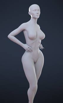 - Freebie - Female Plus, for Genesis 8 Female -