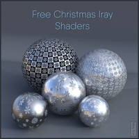 Free Christmas Iray Shaders - Daz Studio by MoyKot