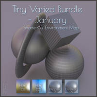 - Freebie - Tiny Varied Bundle - January by MoyKot