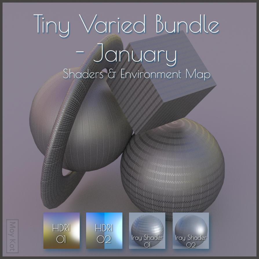 - Freebie - Tiny Varied Bundle - January by MoyKot