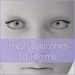 Fresh Eyelashes For La Femme by MoyKot