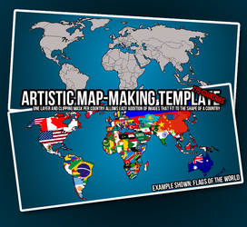Artistic Map-Making Template