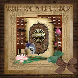 Secret Garden Water Life Library