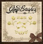 GIMP Brushes | Ornamental Brushes Pkg. 2