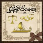 GIMP Brushes | Ornamental Brushes Pkg. 3