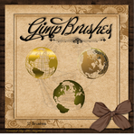 GIMP Brushes | Globe Brushes ... Two been added