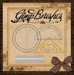 GIMP Brushes | Transparent Geometric Tools