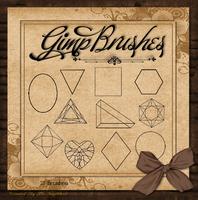 GIMP Brushes | Shapes Brushes