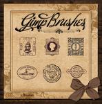 GIMP Brushes   Stamp Brushes
