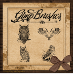 GIMP Brushes | Owl Brushes