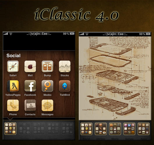 iClassic 4.0 Theme by zevin