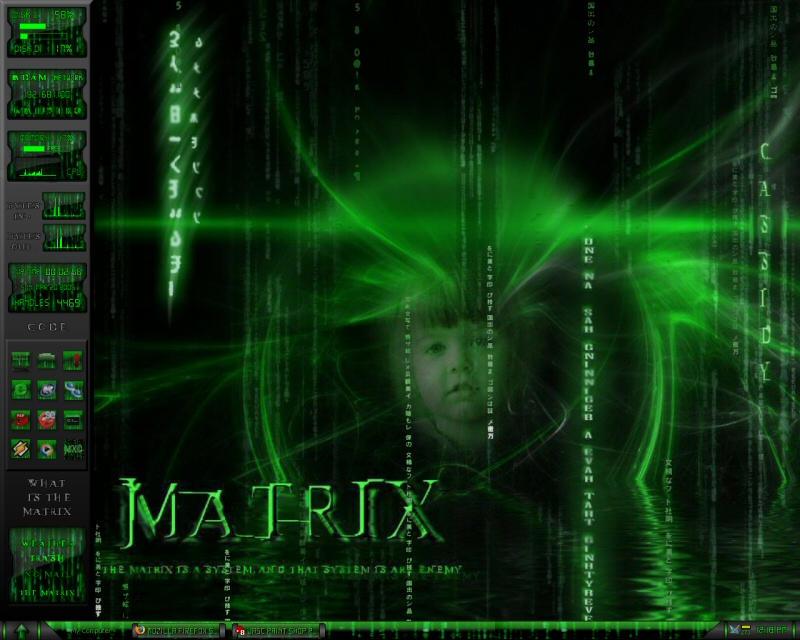 My Matrix X by zevin