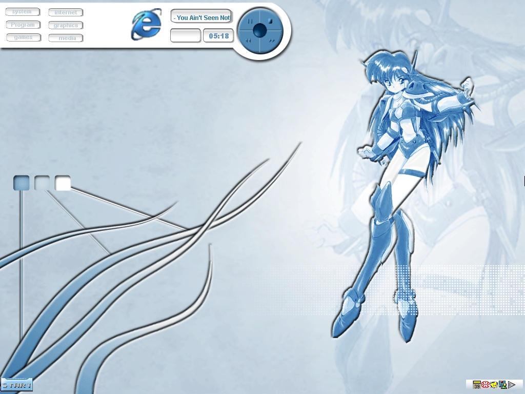 BlueAnime by zevin