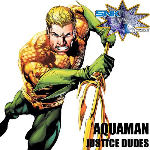 SNKvsDCU: Aquaman by sprite-genius