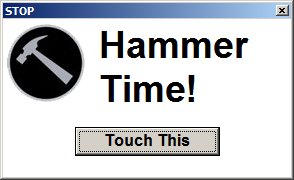 HammerTime by RalfMaximus
