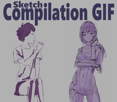 Sketch GIF Compilation - 7