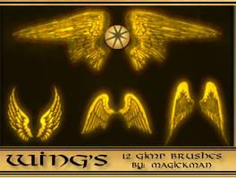 wing's gimp brushes by blueeyedmagickman