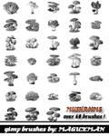 mushrooms for Gimp