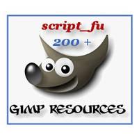 gimp resources script_fu pack by blueeyedmagickman