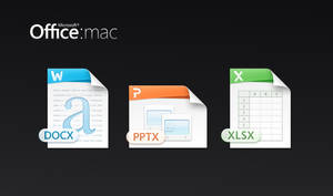 Mac Office 2011 files icons