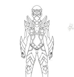 Arksis Hollow (Lineart)
