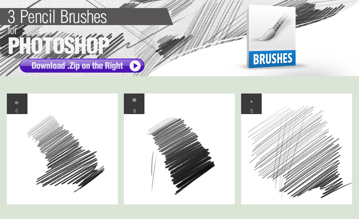 pencil brushes photoshop