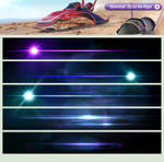 High Resolution Lens Flares for Photoshop