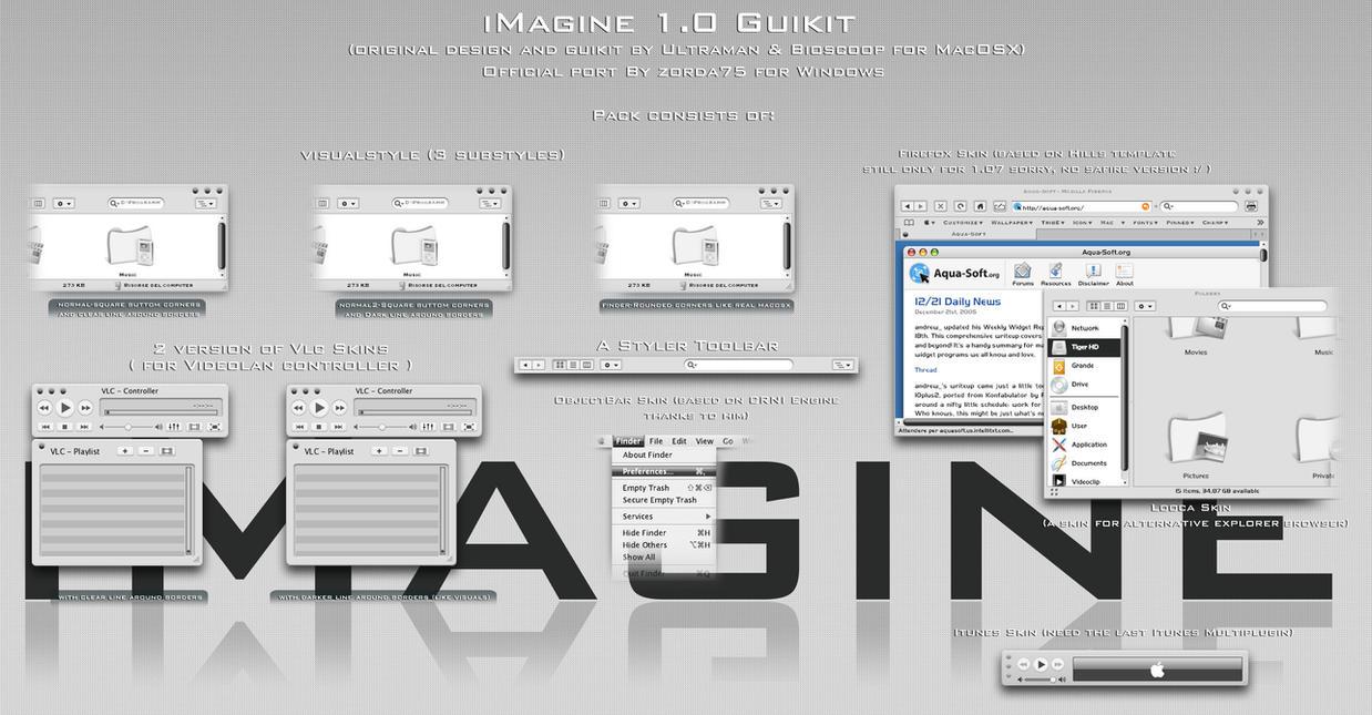 iMagine 1.0 Guikit for Windows by zorda75