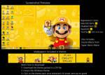 Super Mario Maker Windows 7 Theme