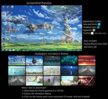 Sword Art Online Windows 7 Theme