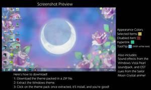 Sailor Moon Windows 7 Theme