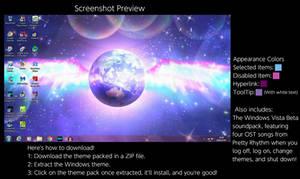 Pretty Rhythm Windows 7 Theme