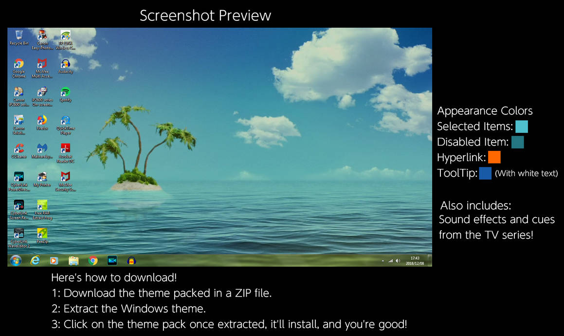 SpongeBob SquarePants Windows 7 Theme by TheWolfBunny on DeviantArt
