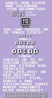 Sonic HUD Clock and Calendar (For Rainmeter)