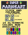 SMK Clock and Calendar (For Rainmeter)