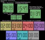 Poketch Watchface Clock (For Rainmeter)