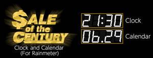 Sale of the Century Clock and Calendar