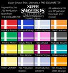 SSBU Symbol Wallpapers (765PRO Colors)