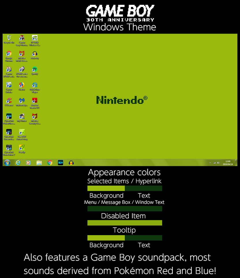 Windows 8 themes for s60v3