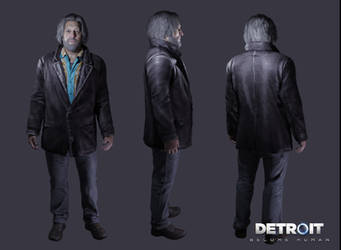Detroit: Become Human - Hank by DaxProduction