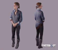 Detroit: Become Human - Kara (Zlatko) by DaxProduction