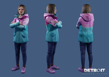 Detroit: Become Human - Zoe by DaxProduction