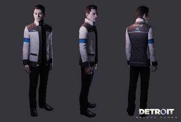 Detroit: Become Human - Connor RK900 (xps) by DaxProduction