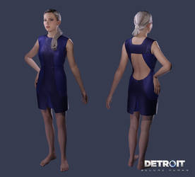 Detroit: Become Human - Chloe (Dress) by DaxProduction