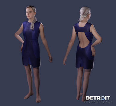 Detroit: Become Human - Chloe (Dress) .xps by DaxProduction