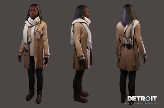 Detroit: Become Human - Civilian Girl (Angela)