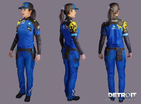 Detroit: Become Human - North (Utility Worker) xps