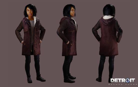 Detroit: Become Human - Civilian Girl 2 (Alisha)