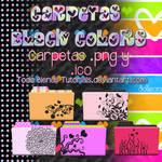 Carpetas Black Colors png y ico