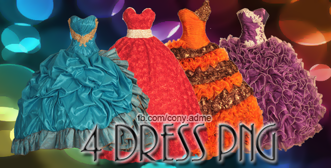 dresses png by lha-constanza